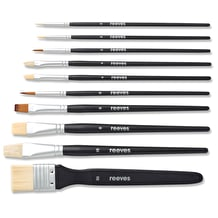Reeves Mixed Media Brushes Set of 10